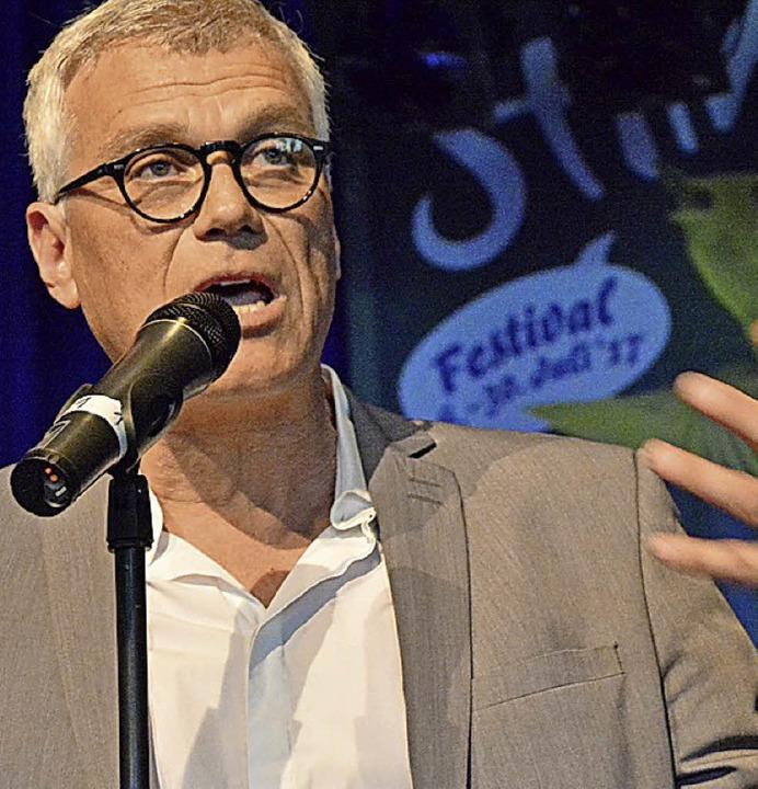 Festivalchef Markus Muffler    Foto: Barbara Ruda