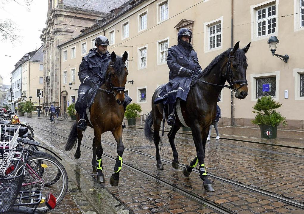 Die Polizeipräsenz hat die Zahl der St... ein ganzes Stück nach unten gedrückt.  | Foto:  ingo schneider