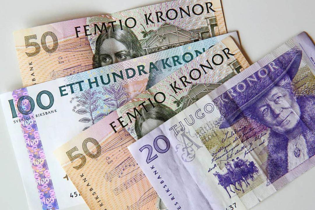 Alternative zum Papiergeld: Die schwed...ill die die E-Schwedenkrone einführen.  | Foto: Bodo Marks