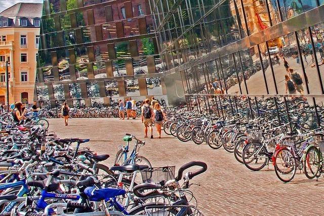 1500 neue Radparkplätze für Freiburgs Zentrum