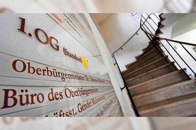 Am Montag endet die Bewerbungsfrist für die OB-Wahl in Freiburg