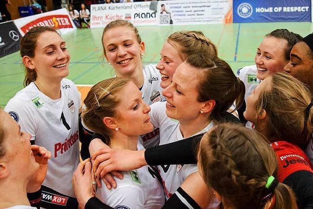Fotos: So feiert der VC Printus Offenburg seinen Titel – mit mehr als 1000 Fans