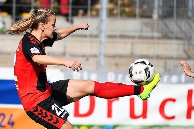 Nur zwei Torschützinnen beim 6:0 der Frauen des SC Freiburg gegen Köln