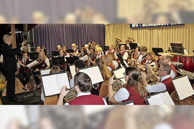 Musikverein beeindruckt mit Anspruchsvollem