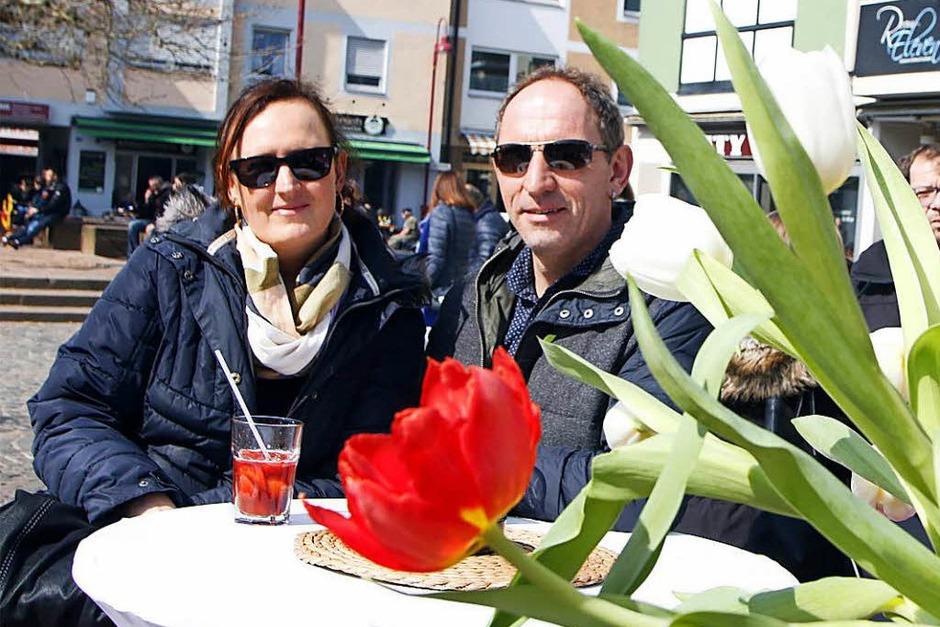 Der Blütensonntag lockte tausende Menschen in die Innenstadt. (Foto: Heidi Foessel)