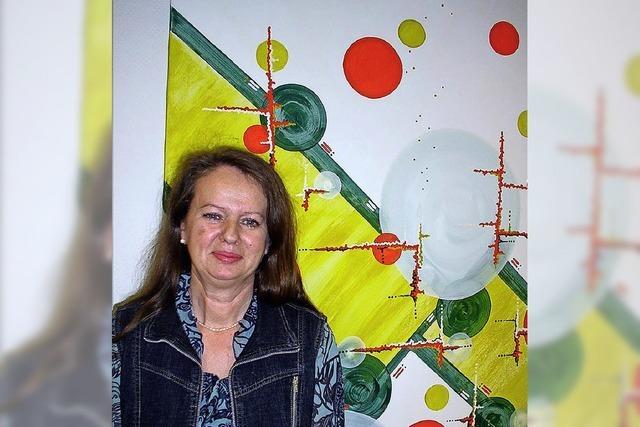 Grace Schumacher stellt bis 6. Juni in Bad Krozingen aus