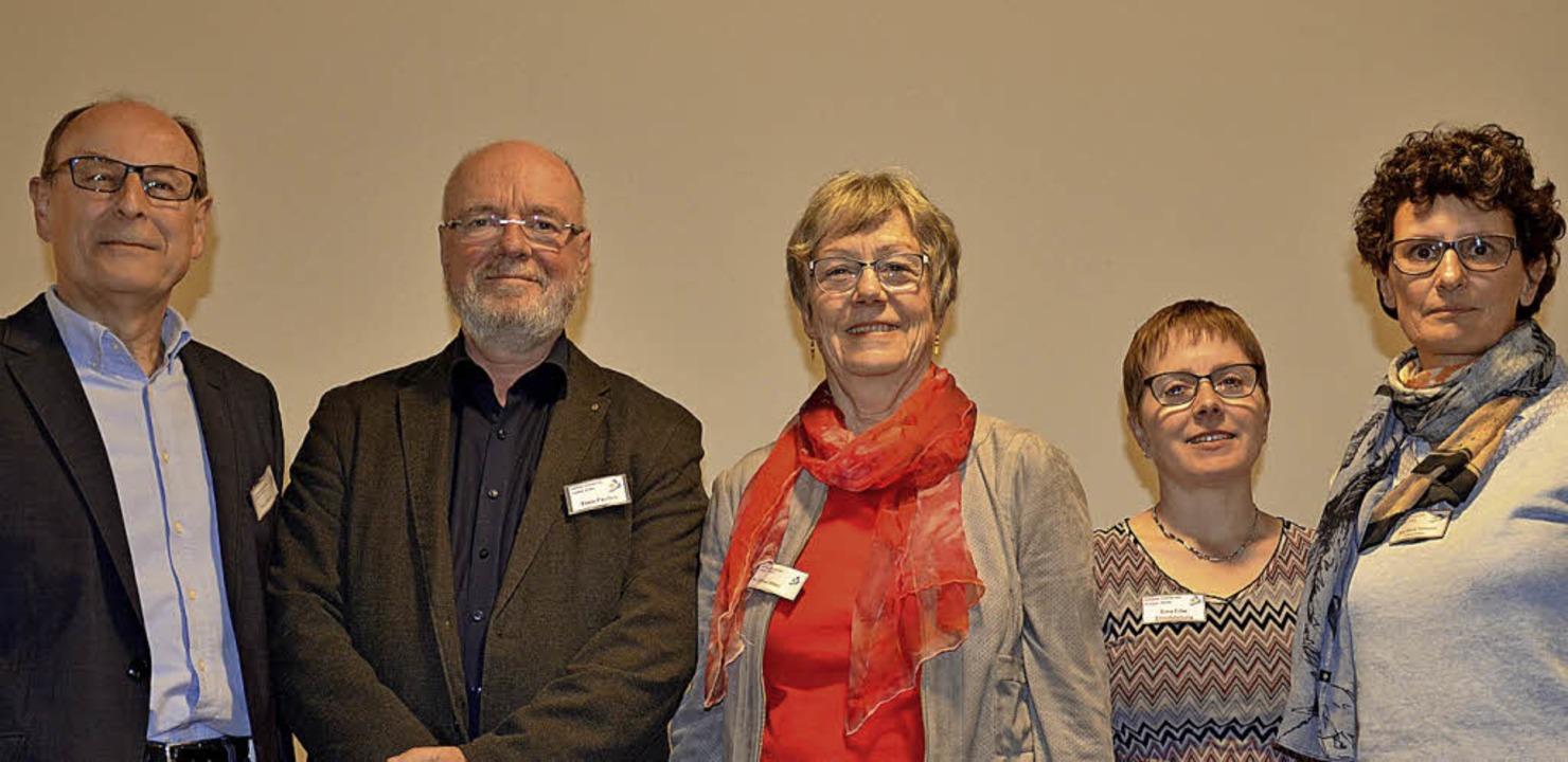 Erweiterung des Vorstandes (von links)...nen Erna Erbe und Eva-Maria Neumann     | Foto: Martina Weber-Kroker