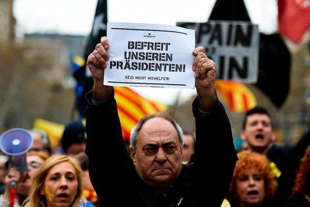 Der Haftbefehl gegen Puigdemont ist überzogen – aber nachvollziehbar