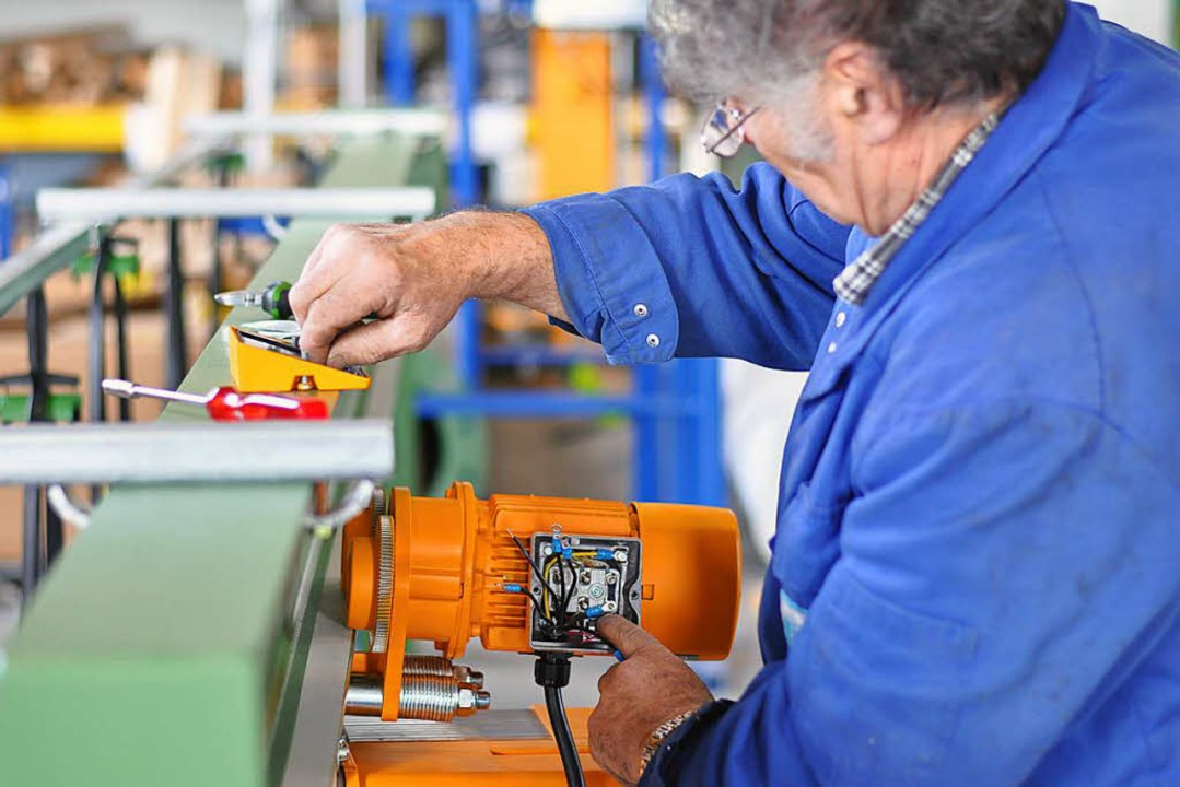 Das sinkende Rentenniveau führt dazu, ...e nicht reicht und sie arbeiten gehen.  | Foto: Industrieblick