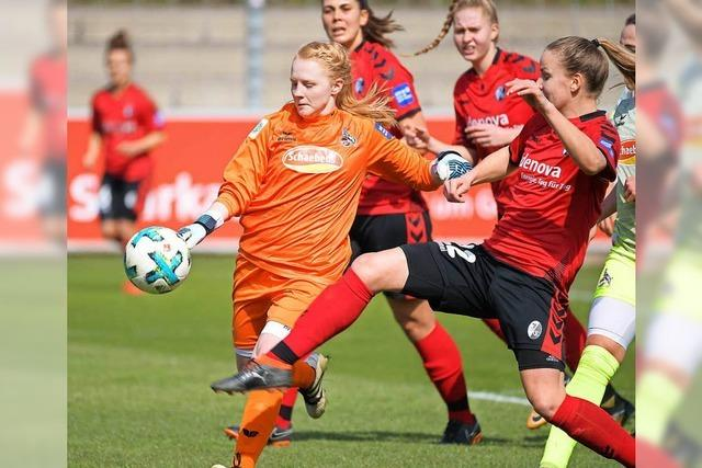 Gegen Köln schossen die SC Frauen sich den Frust von der Seele
