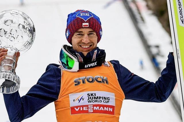 Kamil Stoch überragt