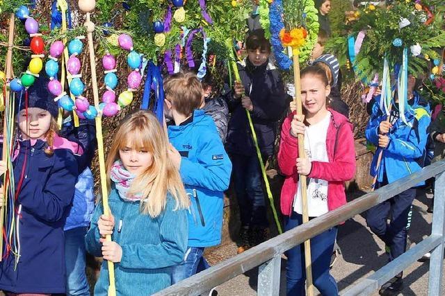 Schopfheim bereitet sich auf die Palmsonntags-Prozession vor