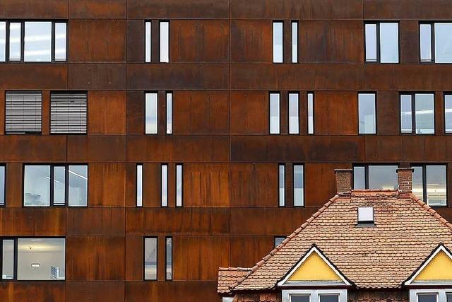 In Freiburg sind Büromieten fast so hoch wie in Metropolen