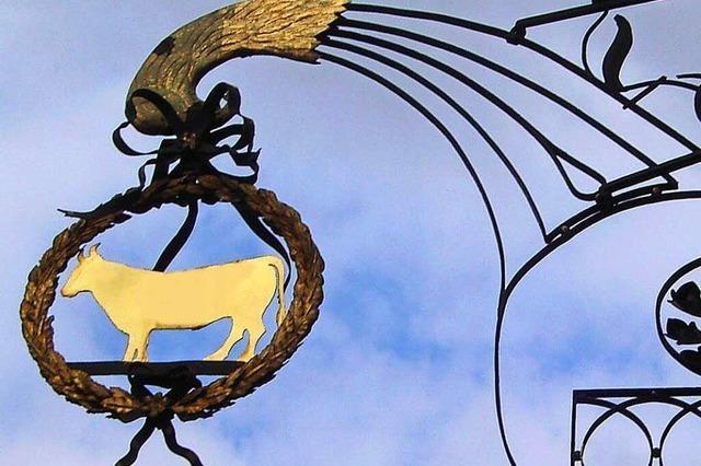 Der Ochsen in Zähringen ist die Freiburger Schnitzelwirtschaft Nummer eins