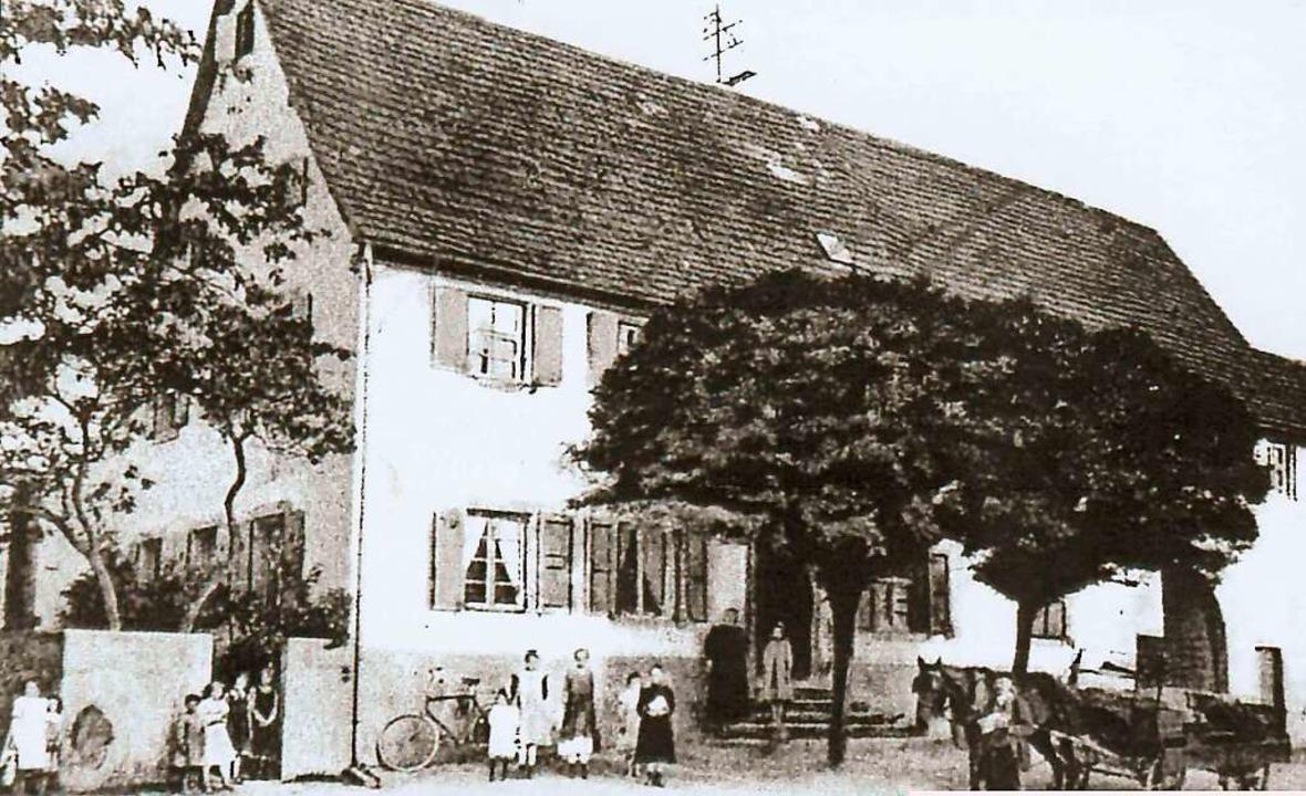 Ein Foto des Ochsen von 1927.  | Foto: Archiv Hans Sigmund