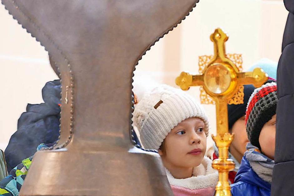 Führung durch die Bonifatiuskirche (Foto: Clara Heße)