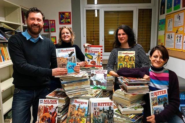 Erfolgreiche Büchersammlung