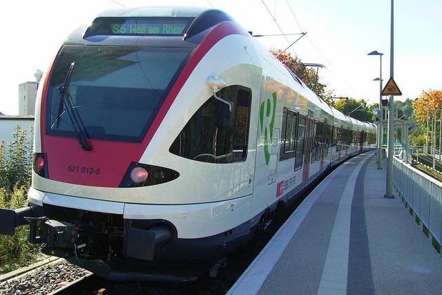 Züge zwischen Lörrach und Weil am Rhein fallen am Ostersonntag aus