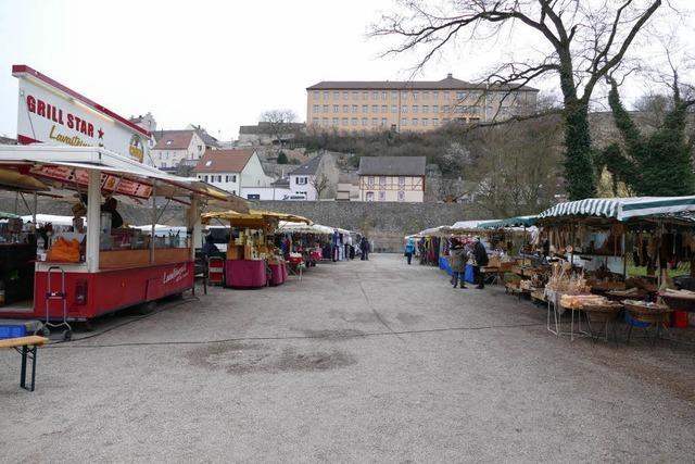 Breisacher Jahrmarkt ist aufs Weinfestgelände umgezogen