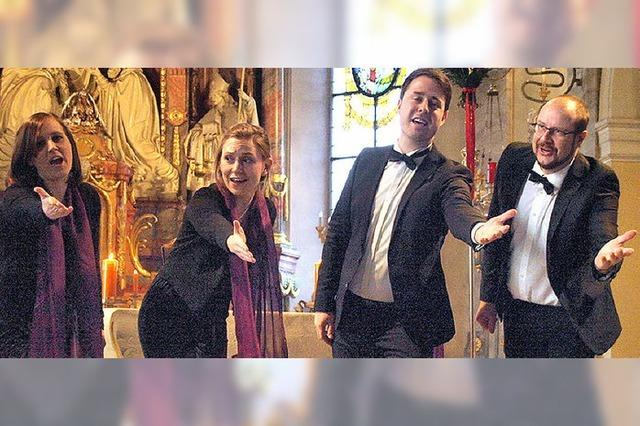 Kleiner Chor erfüllt Kirche mit klanggewaltiger Stimme