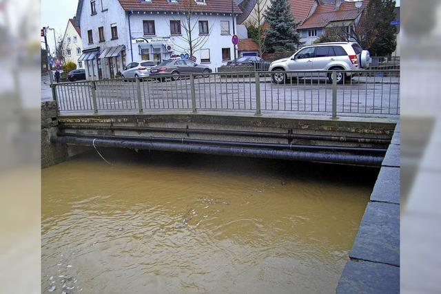 Hochwasserschutz am Hohlebach