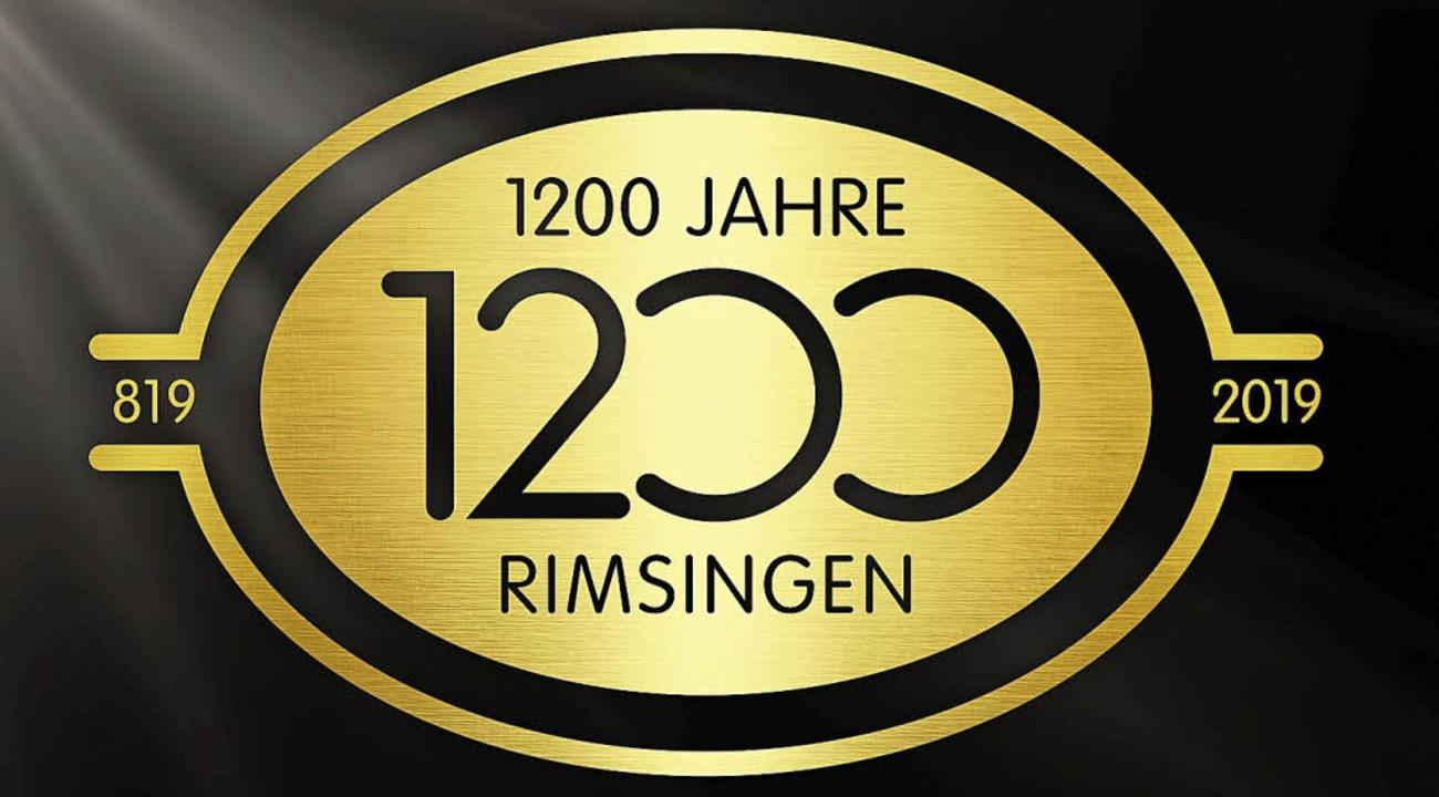 So sieht das Logo für die 1200-Jahr-Feier in Rimsingen aus.  | Foto: privat