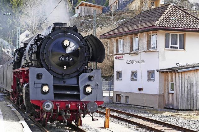 Ein Fest für Freunde von Dampflokomotiven