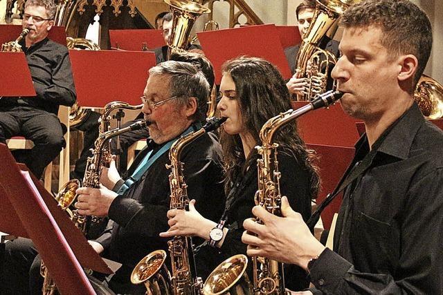 Das Repertoire reicht von Bach bis Bond