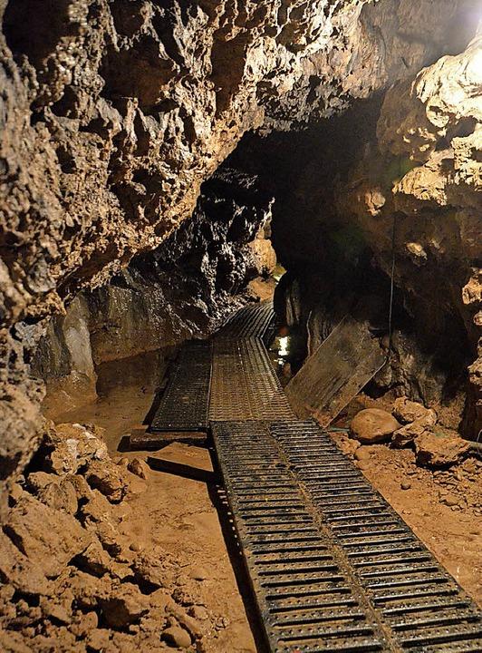 Die Tschamberhöhle soll neue Gehroste erhalten.  | Foto: Böhm-Jacob