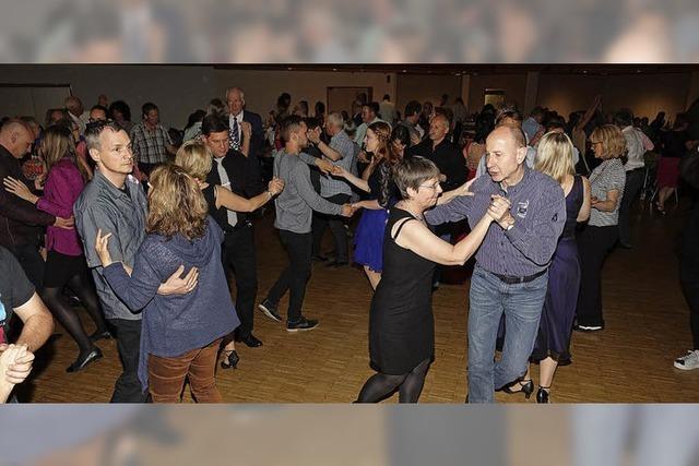 Basler Show-Einlage bei der Oster-Tanznacht