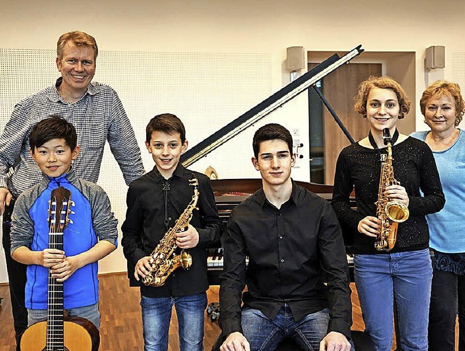 Jugend musiziert auf Landesebene: Musi...- und Saxofonlehrerin Katrin Teschke.     Foto:  Stadt Waldkirch