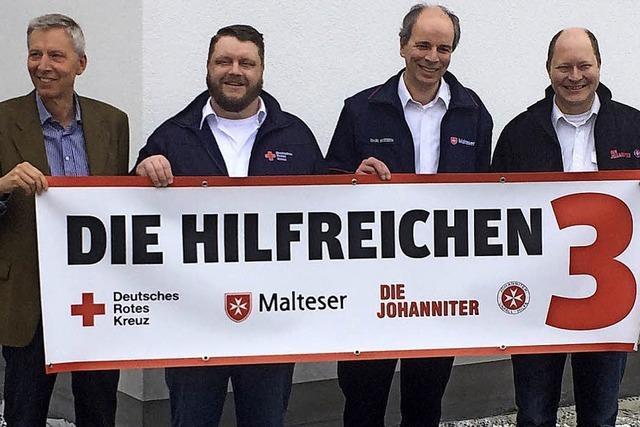 Freiburgs Helfer sind
