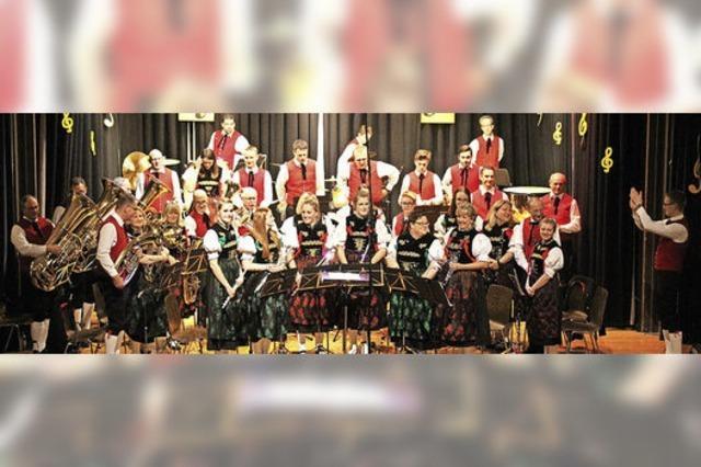 Stadtmusik feiert Erfolge