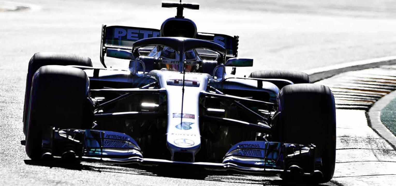 Doch nicht unbesiegbar? Formel-1-Weltm...ßen Preis von Australien in Melbourne   | Foto: AFP