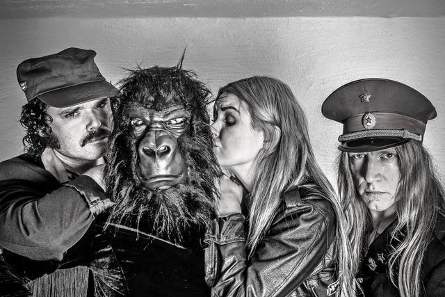 Punkrockband Baboon Show am 1. April im Waldsee