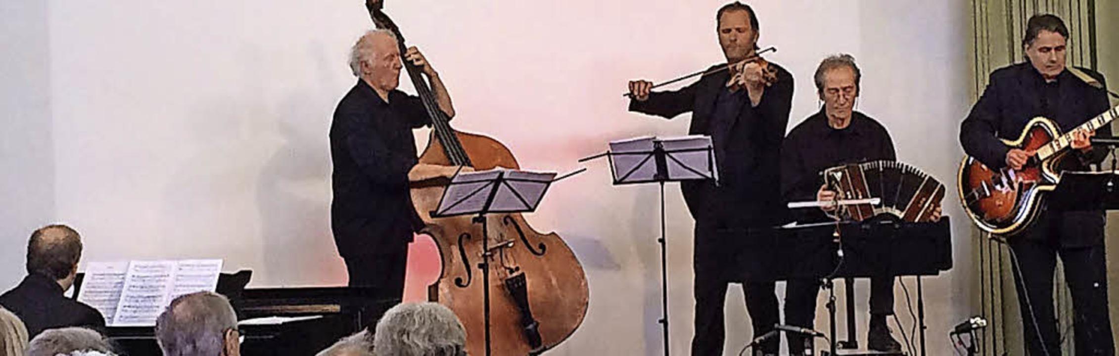 Das Tango-Konzert in Quintett-Besetzung  | Foto: Privat