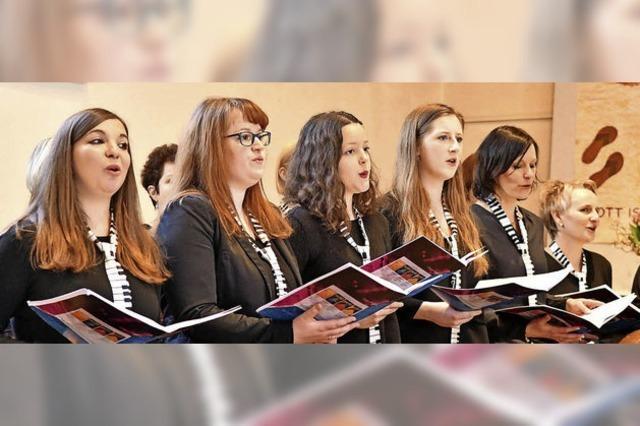 Aus Zuhörern werden aktive Sänger