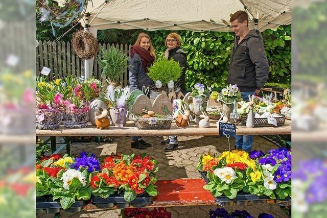 Pflanzenbörse und Bauernmarkt