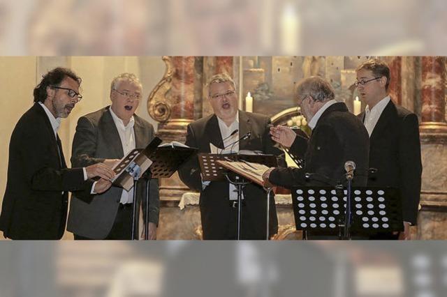 Geistlicher Gesang trifft auf virtuose Violine
