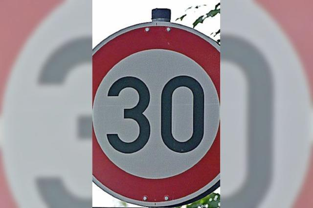 Tempo 30 zur Sicherheit der vielen Schüler