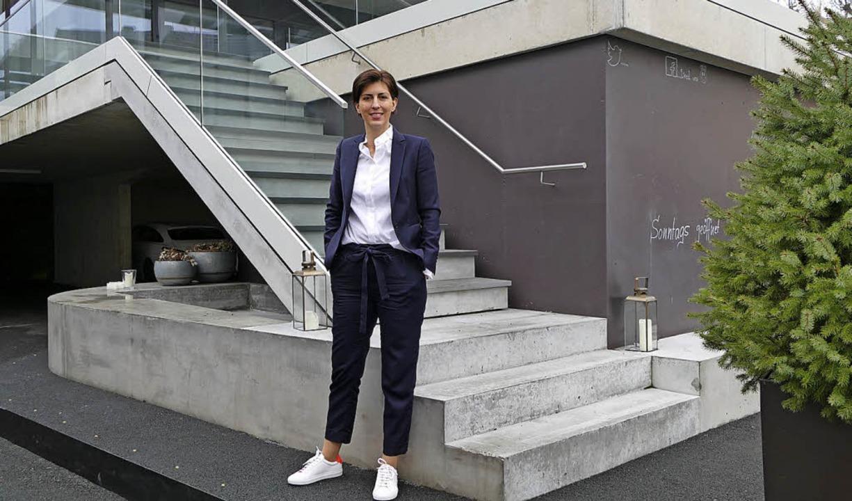 Krone-Chefin Sonja Hechler setzt auf Eventgastronomie.     Foto: Fillisch