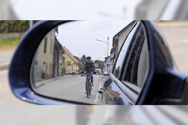 Radlerschutz kommt in die Spur