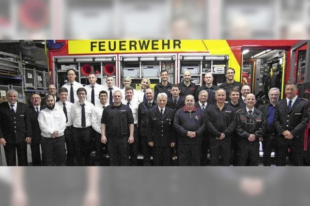 Im Schnitt jeden Tag einen Feuerwehreinsatz
