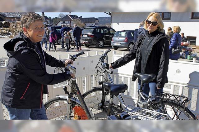 Fahrradmarkt in Häusern