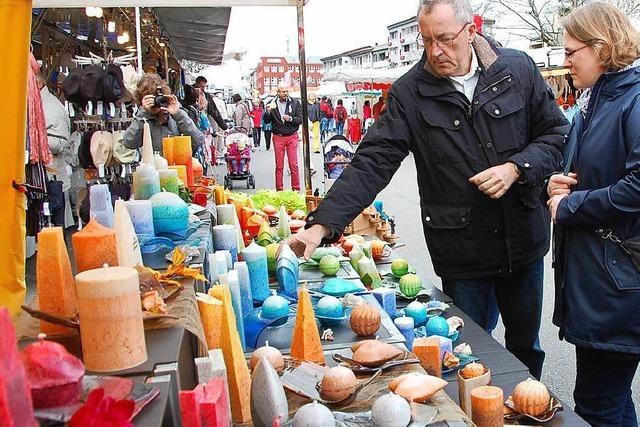 Am 6. April: Frühjahrsmarkt mit 70 Krämern