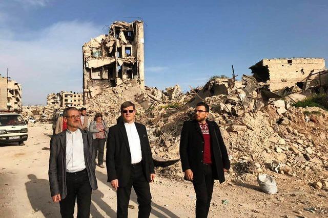 Freiburgs Erzbischof Burger nach Syrienbesuch von der Not erschüttert