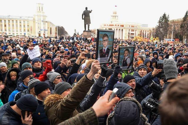 Die Wut auf den russischen Staat ist groß
