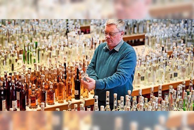 Weniger Alkohol im Schnaps
