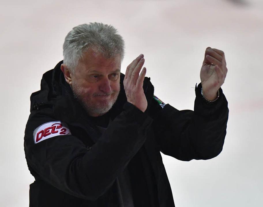 EHC-Trainer Leos Sulak.  | Foto: Achim Keller