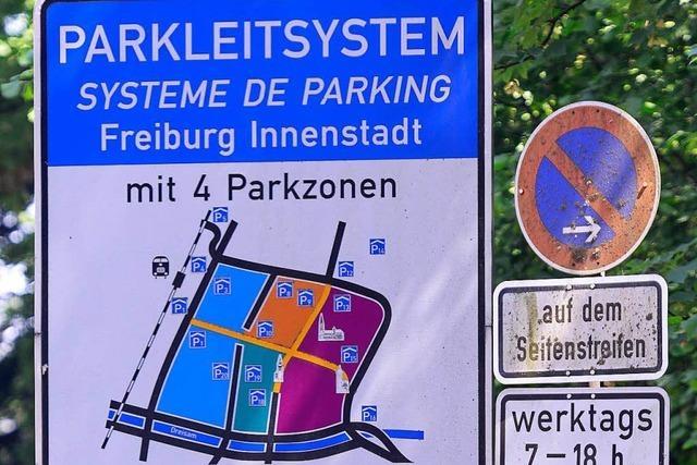 Die Parkplatzsuche in Freiburg soll einfacher werden